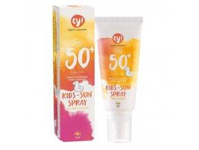 Ey! Opalovací krém ve spreji pro děti SPF 50+ BIO (100 ml) 100% přírodní, s minerálními pigmenty