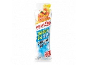 Energy Gel Aqua Caffeine Hit 66g tropické ovoce