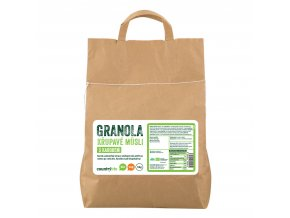 Granola - Křupavé müsli s karobem 5kg BIO COUNTRYLIFE