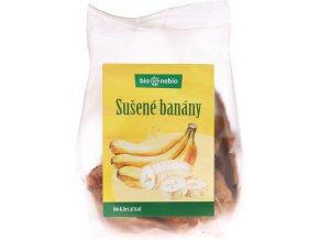 Bio sušené banány plátky bio*nebio 100 g
