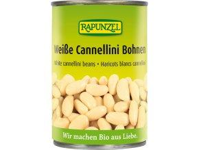 Bio bílé fazole sterilované RAPUNZEL 400 g