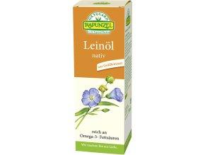 Bio lněný olej lisovaný za studena RAPUNZEL 250 ml