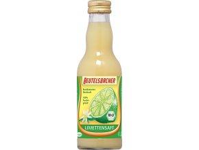 Bio limetková šťáva 100% Beutelsbacher 0,2 l