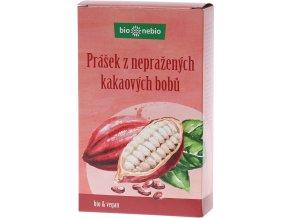 Bio prášek z nepraženého kakaa bio*nebio 150 g