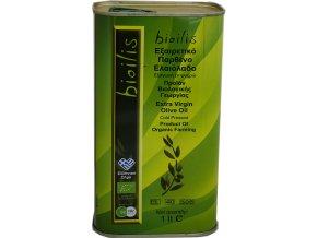 Bio extra panenský olivový olej BIOILIS 1 l