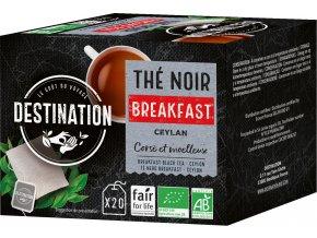 Bio černý čaj Breakfast 20 x 2 g
