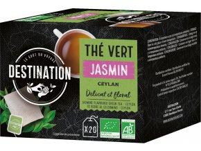 Bio zelený čaj jasmínový 20 x 1,75 g