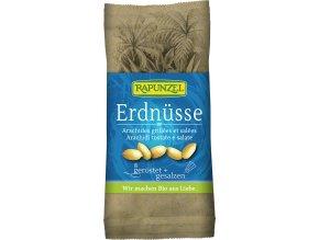 Bio arašídy pražené solené RAPUNZEL 75 g