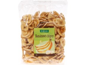 Bio banánové chipsy bio*nebio 400 g