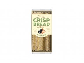 Pšeničný křehký chléb s olivami a česnekem - Danvita 130g