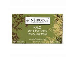 Maska pleťová rozjasňující s jílem HALO 75 g ANTIPODES