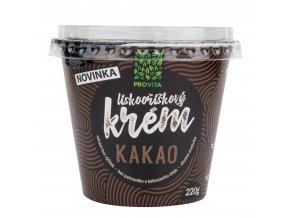 Krém lískooříškový kakao 220 g   PROVITA