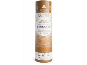 Ben & Anna Tuhý deodorant (60 g) - Indická mandarinka