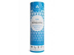 Ben & Anna Tuhý deodorant (60 g) - bez vůně