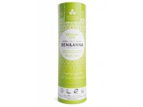 Ben & Anna Tuhý deodorant (60 g) - Perská limetka
