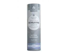 Ben & Anna Tuhý deodorant Sensitive (60 g) - Horský vánek
