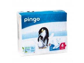 Jednorázové ekologické pleny pro děti č. 4: 7-18 kg 40 ks  Pingo