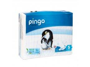 Jednorázové ekologické pleny pro děti č. 5: 11-25 kg 36 ks Pingo