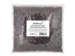 Himalájská sůl černá hrubá KALA NAMAK 5 kg Wolfberry
