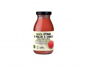 Šťáva 100% malinovo-jablková 0,2 l