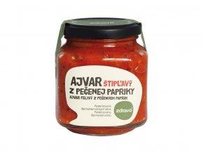 Ajvar z pečené papriky pálivý 300g