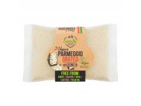 Veganská alternativa sýru parmezán strouhaný 100g GREENVIE