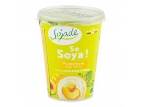 SOJADE bifidus mango-broskev 400 g BIO