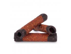 Trubičky jablečné s čokoládou 24g BIOPRODUKT JT