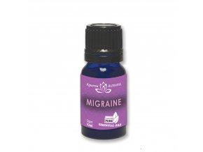 Migréna 100% směs esenciálních olejů 10 ml Altevita