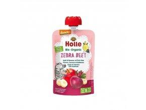 Ovocné pyré - ZEBRA BEET BIO pro děti 100 g Holle