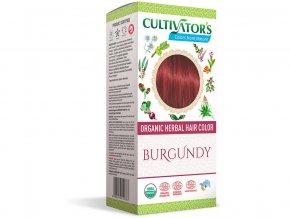 Bio přírodní barva na vlasy 100% 17 - Burgundská 100g
