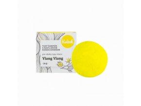 Kvitok Tuhý šampon s kondicionérem pro světlé vlasy Ylang Ylang XXL (50 g)