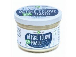 PURITY VISION Dětské tělové máslo BIO 200 ml