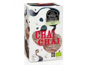 Royal Green černý čaj Chai Chai BIO 16 x 1,7 g