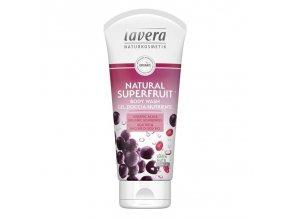 lavera Sprchový gel Natural Superfruit 200 ml