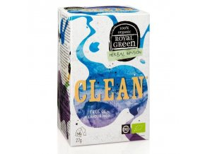 Royal Green bylinný čaj Clean BIO 16 x 1,7 g