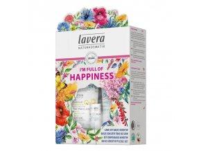 lavera Dárkový set plný štěstí Basis sensitiv