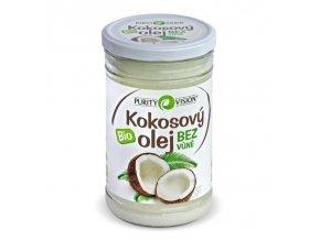 PURITY VISION Kokosový olej bez vůně BIO 900 ml