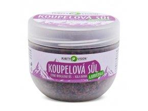 PURITY VISION Ajurvédská koupelová sůl 500 g