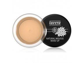 lavera Přírodní pěnový make-up - 03 med 15 g