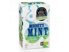 Royal Green mátový čaj Mighty Mint BIO 16 x 1,7 g