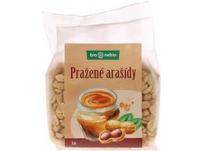 Bio arašídy loupané pražené bio*nebio 200 g