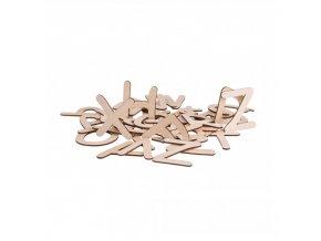 Dřevěná naučná abeceda Čisté Dřevo