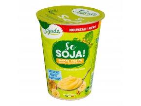 SOJADE bifidus banán-mučenka bez přidaného cukru 400 g BIO