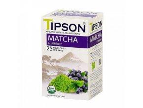 Tipson BIO Matcha blueberry 25x1,5g