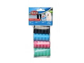 Trixie sáčky náhradní barevné na trus, 4 role á 20 ks