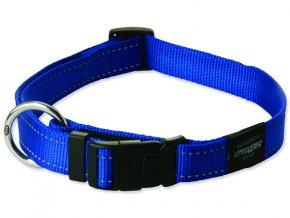 Obojek pro psa nylonový - Rogz Utility - modrý - 1,1 x 20 - 32 cm