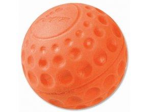 Rogz Asteroid Míček pěnový pro psy oranžový - velikost L, průměr 7,8 cm