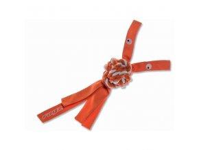 Rogz Cowboyz Provaz pro psy oranžový - velikost L, 40x7,8 cm