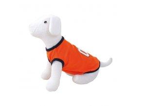 Triko DOG FANTASY Sport 01 oranžové M-L